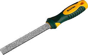 KRAFTOOL 200 мм, напильник плоский с карбид-вольфрамом 16080-20_z01