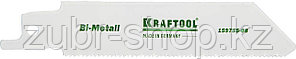 KRAFTOOL 80 мм, шаг 1.4 мм, по металлу Bi-Met, полотно для электроножовки 159755-08 Industrie