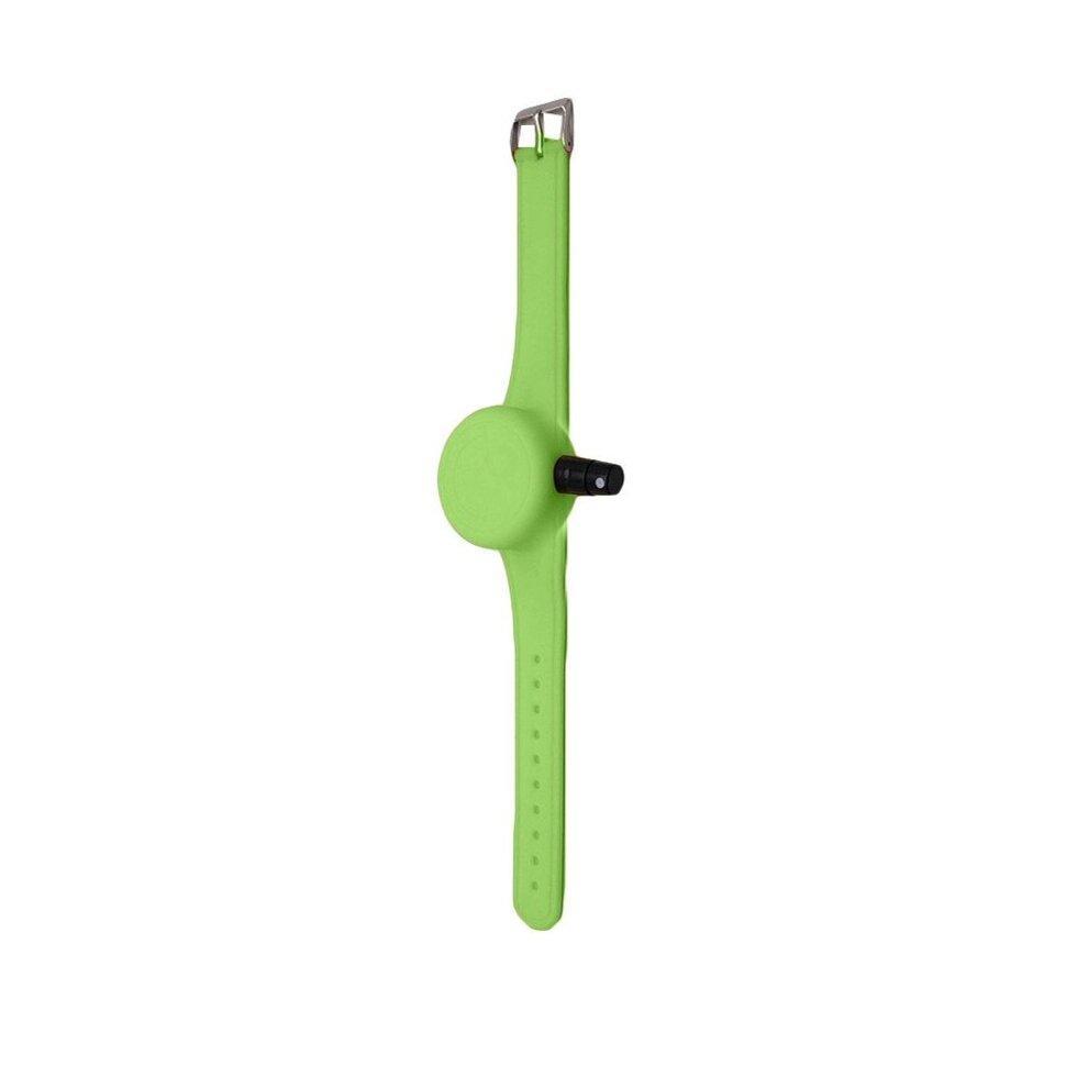 Антисептический браслет для рук - зелёный