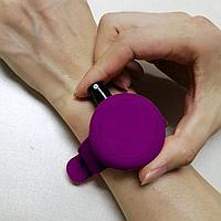 Антисептический браслет для рук - фиолетовый, фото 4