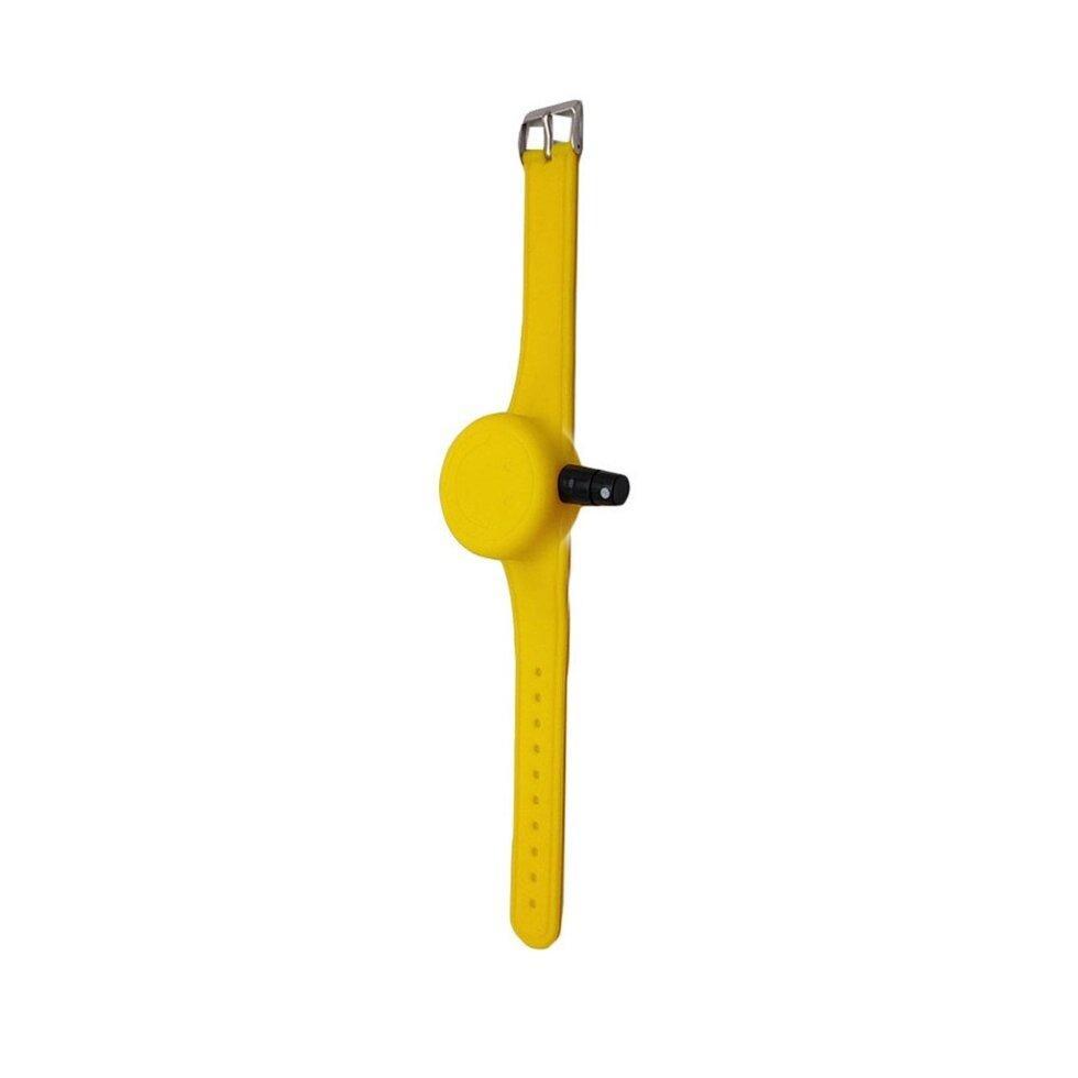 Антисептический браслет для рук - жёлтый