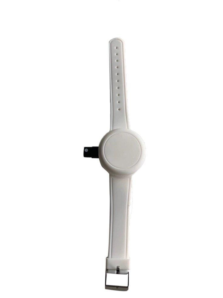 Антисептический браслет для рук - белый