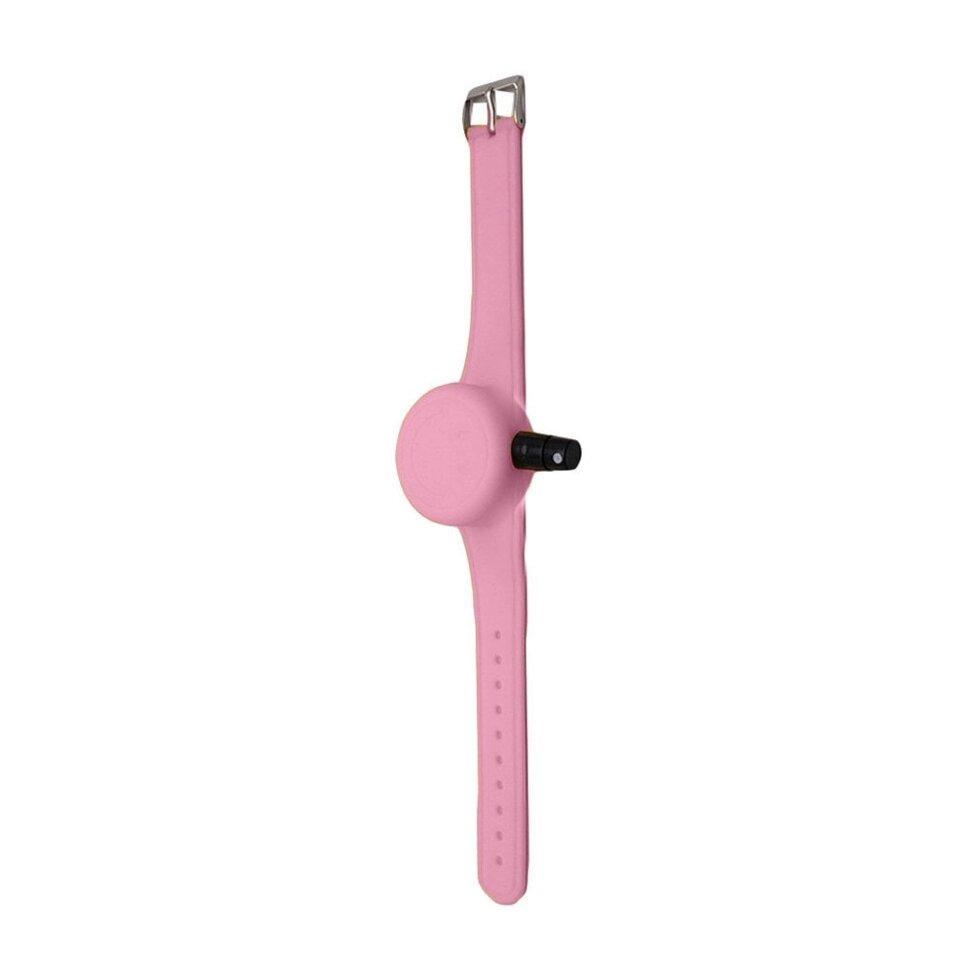 Антисептический браслет для рук - розовый