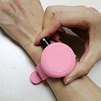 Антисептический браслет для рук - розовый, фото 3