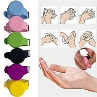 Антисептический браслет для рук - розовый, фото 4
