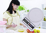 Кухонные электронные весы Electronic Kitchen Scale SF-400, фото 6