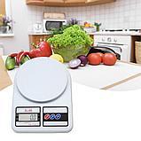 Кухонные электронные весы Electronic Kitchen Scale SF-400, фото 2