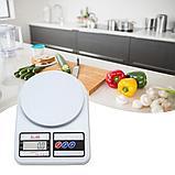 Кухонные электронные весы Electronic Kitchen Scale SF-400, фото 8