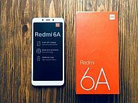 Смартфон Xiaomi Redmi 6A 16Gb RAM 2Gb (белый) б/у