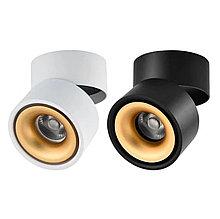 Накладной светодиодный светильник 12W 4000K-GOLD