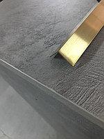 L-Профиль 17*17, матовое золото, для декорирования мебели, 305 см, L-образный