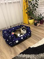 Лежанка для кошек звезды, фото 1