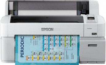 Принтер широкоформатный Epson SureColor SC-T3200 C11CD66301A1, A1+, 610 мм, 2880x1440dpi, 28 сек/А1, 1000 МБ,