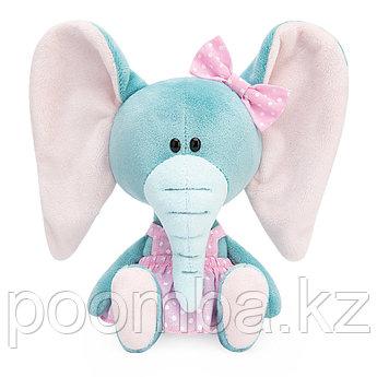 Мягкая игрушка Слониха Симба в розовом сарафане