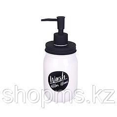 Дозатор для ж/мыла керамика Милкис белый B4391-1