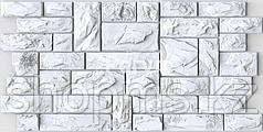 """""""Регул"""" Панель листовая """"камень пиленный настоящ. белый"""" 1,025*0,495 /30"""
