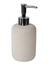 Дозатор для жидкого мыла Аквалиния Stone CM0065BA-LD цемент