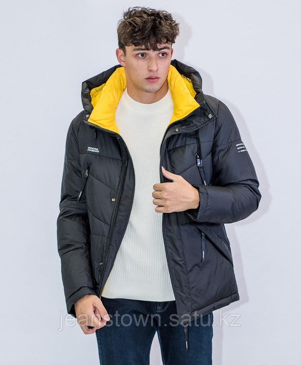 Куртка мужская зимняя Vivacana  черная