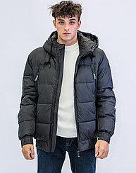 Куртка мужская зимняя короткая Vivacana  черная
