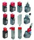 Электромеханические выключатели безопасности и блокировки