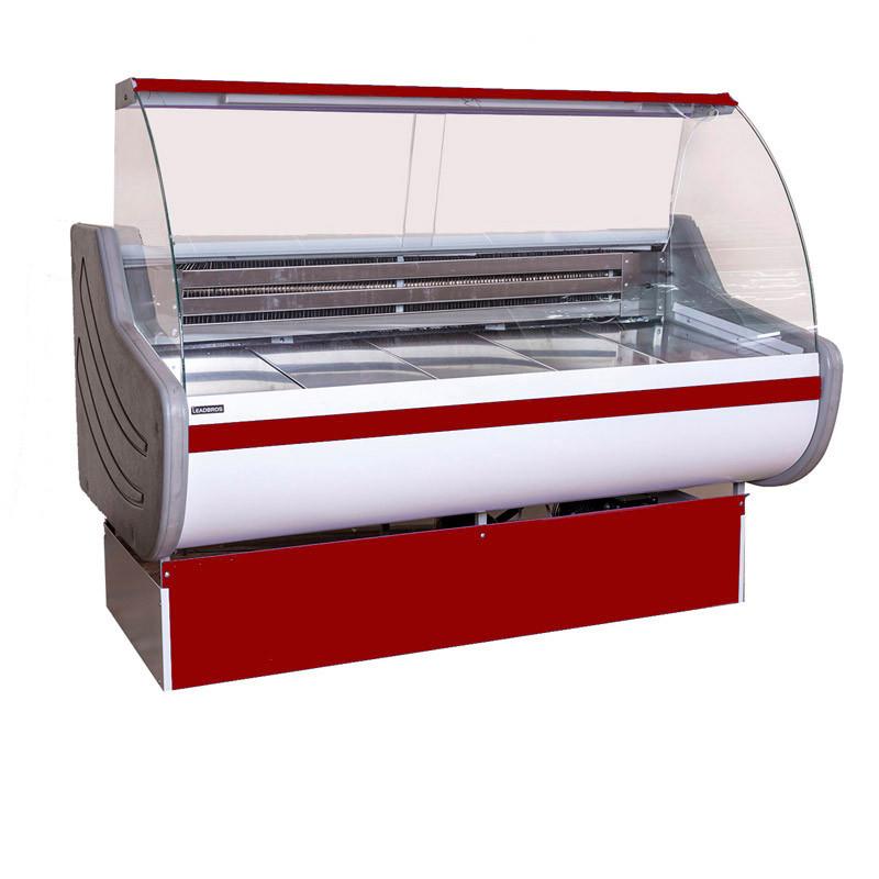 Витринный холодильник  Асем 2м -15-10С