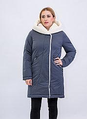 Куртка женская зимняя Evacana серая