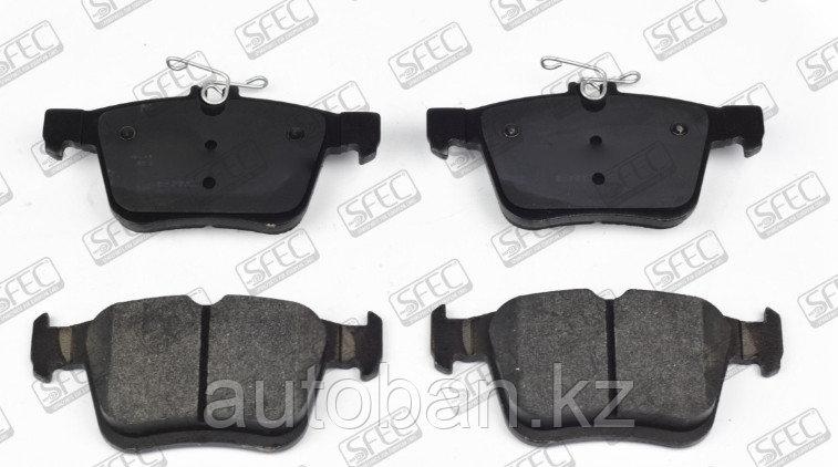 Тормозные колодки задний Audi A3 2012-/Volkswagen Golf Vll 2012-/Skoda Superb 2014-