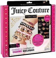 Набор для создания украшений Make it Real Juicy Couture Цепочки с бусинами, фото 1