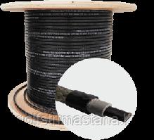 SAMREG 17HTM2-CT, Саморегулирующийся нагревательный, греющий кабель пищевой, внутрь трубы.