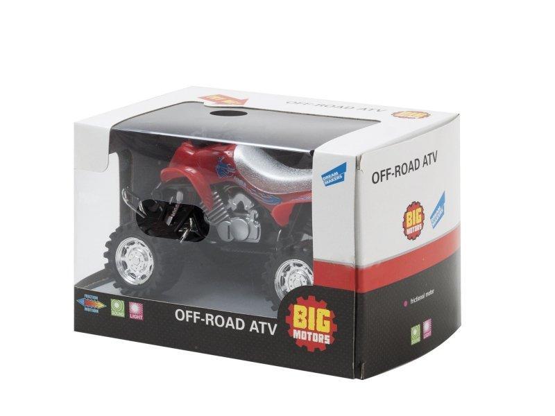 Квадроцикл Big Motors инерционный 6297-17