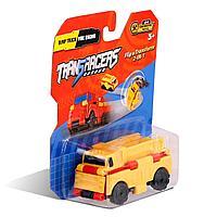 Flip Cars: Машинка-трансформер 2 в 1 Самосвал и Пожарная Машина