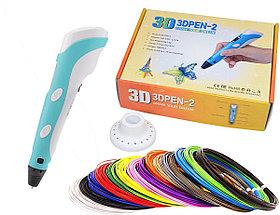 3D ручка 3DPEN-2 с OLED-дисплеем для рисования.