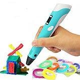 3D Ручка 3-го поколения с трафаретами и пластиком в комплекте., фото 5
