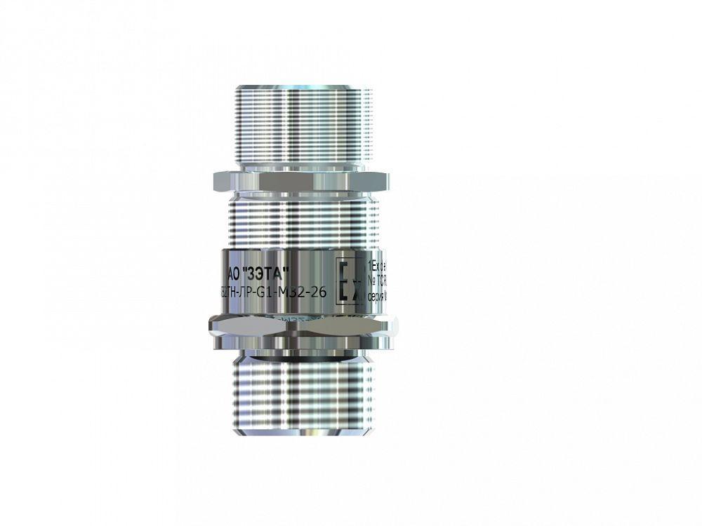 Ех-кабельный ввод ВКВ2ТН-ЛС-G1 1/2-М40-33 1Ex db e II Gb X