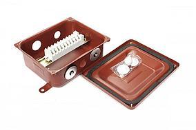 Коробка с зажимами наборными КЗНА-08 У3 IP43 ЗЭТАРУС