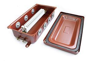 Коробка монтажная КМ 65-20 УХЛ1,5 IP65  металлические заглушки ЗЭТАРУС