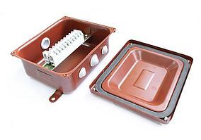 Коробка монтажная КМ 43-10 У3 IP43 ступенчатый ПВХ ввод  ЗЭТАРУС