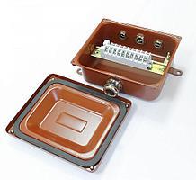 Коробка монтажная КМ 65-10 УХЛ1,5 IP65 латунный ввод ЗЭТАРУС