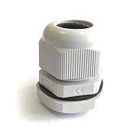 Сальник PG   9 пластик  IP68 серый ЗЭТАРУС