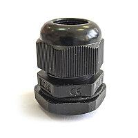Сальник MG  16 пластик  IP68 черный ЗЭТАРУС