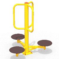 Уличный тренажер Орбита (Твистер) МАФ 3611