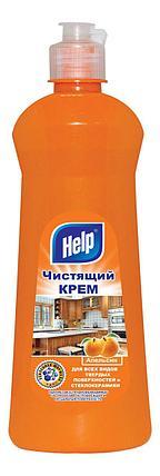 """Чистящий крем """"HELP"""" Апельсин 600г, фото 2"""