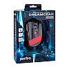 """Мышь Perfeo оптическая """"DREAMGEAR"""" 7кн. USB, DPI 1200-4800 GAME DESIGN чёрно-красная, с подсеткой 6 цв.,"""