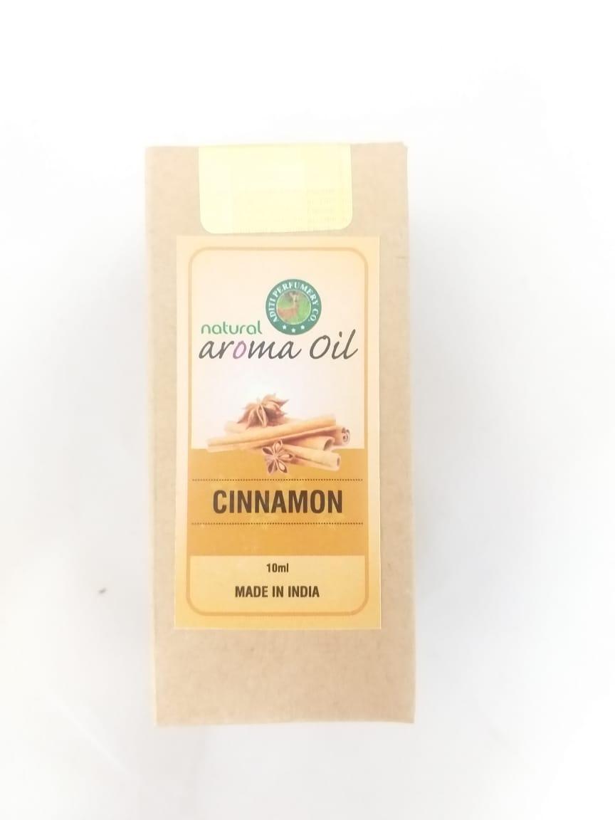 Натуральные эфирные масло с ароматом корицы, 10 мл, Индия