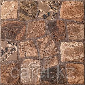Керамогранит 33х33 - Вилио   Vilio коричневый