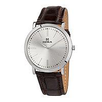 Серебряные мужские часы Slimline