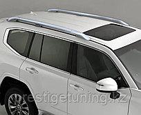 Рейлинги продольные на Land Cruiser 300 (Серый)