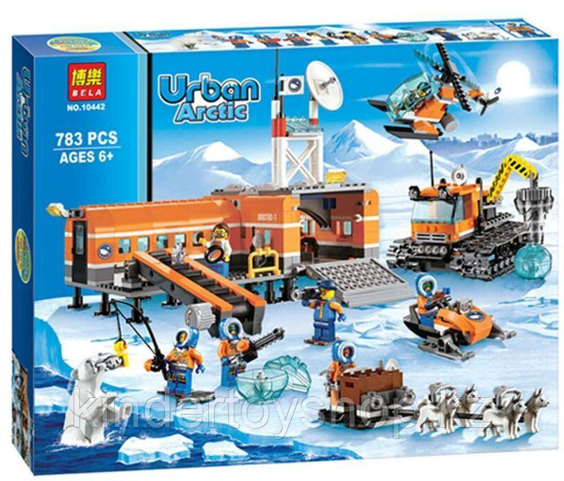 Конструктор Bela City Арктическая база 10442 (Аналог лего Lego City 60036) 783 дет