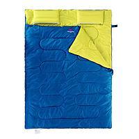 Спальник двухместный Naturehike с подушкой SD15M030-J синий, фото 1