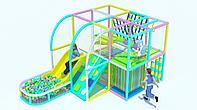 Игровой лабиринт с бассейном